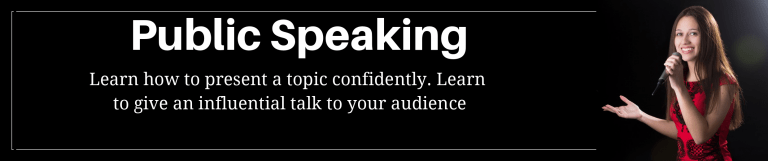 Public Speaking Class - weekly classes