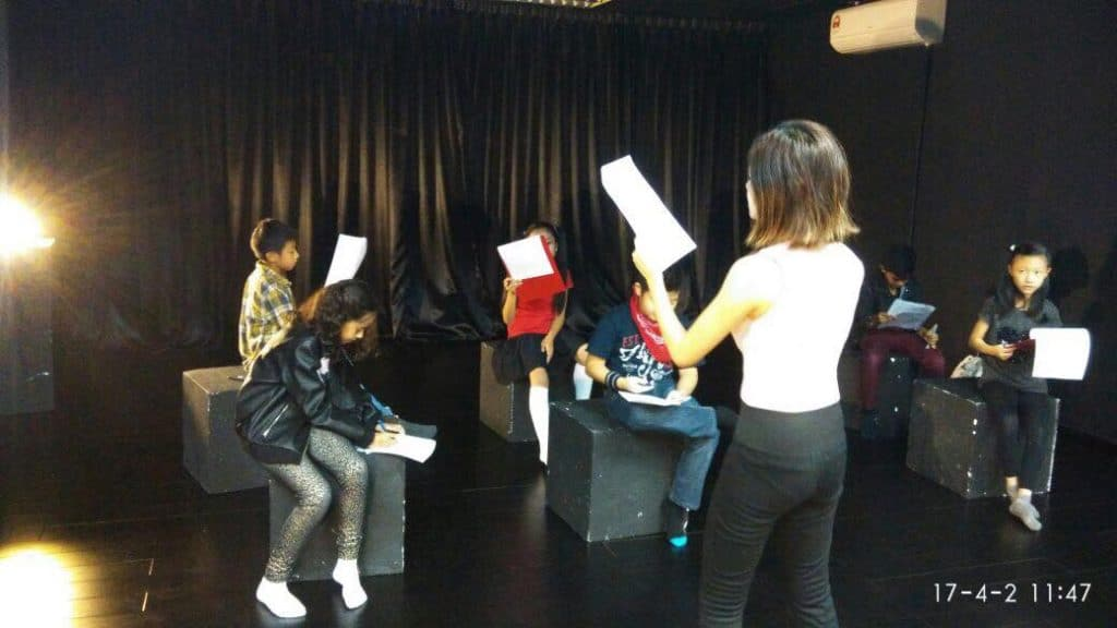 speech and drama and acting